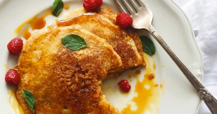 Pancakes de avena (sin trigo)