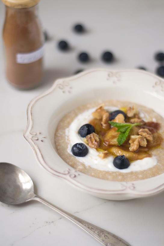 Cereal caliente con avena y amaranto ( y un artículo sobre el amaranto de semana cocina )