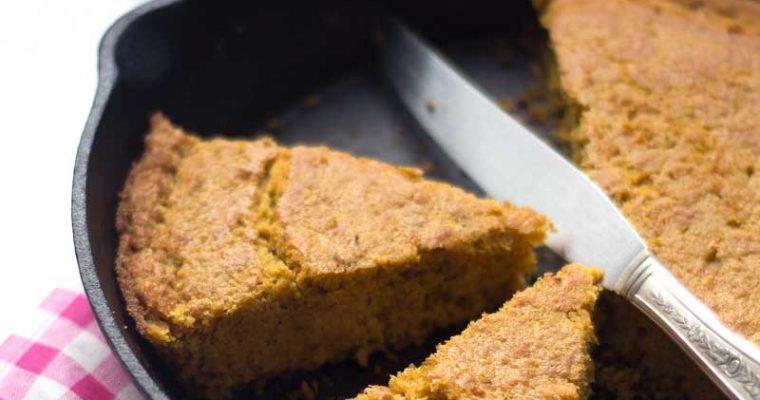 Pan de mazorca o Torta de choclo  ( sin gluten)