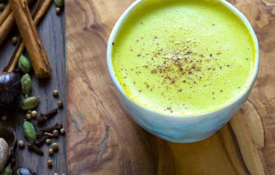 Turmeric latte personalizado ( leche dorada )