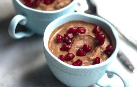 MOUSSE DE CHOCOLATE ( vegana y deliciosa )